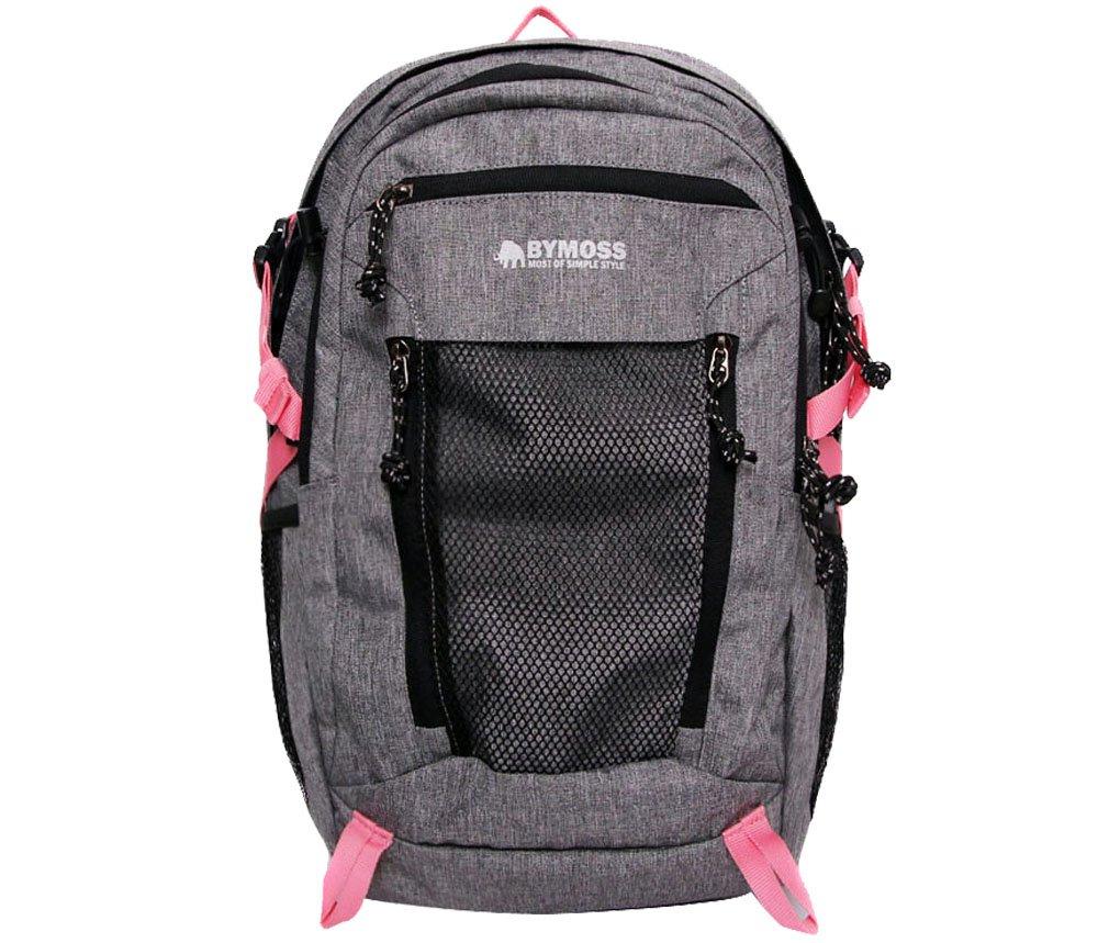 [バイモス]BYMOSS マキシマム エクストリーム1シリーズ(メッシュ)(Maximum Extreme Backpack 1Series) [並行輸入品] B01MQT06RF グレーピンク グレーピンク