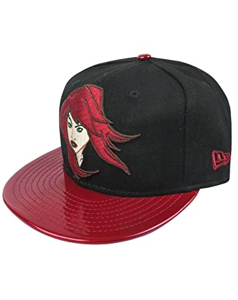 6b0fbf85523 Image Unavailable. Image not available for. Color  New Era 9Fifty Avengers  Black Widow Womens Snapback Cap