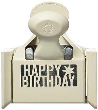 Unbekannt Martha Stewart Crafts Happy Birthday Tief Erhohen Mehrfarbig