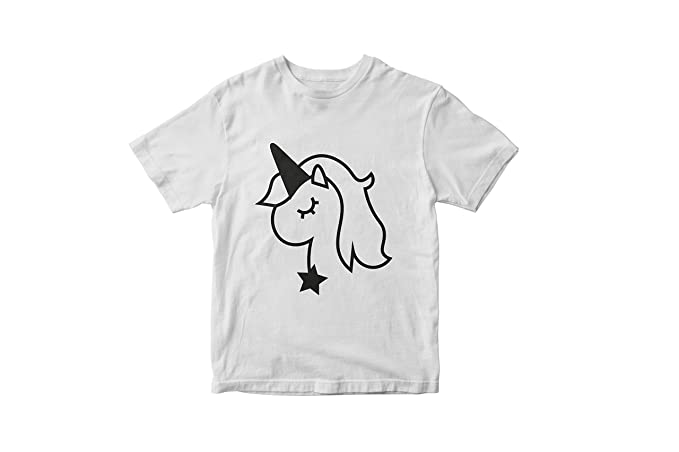 9eb849958 Amazon.com: Beautiful Unicorn T-Shirt, Modern Cool Tees for Kids ...