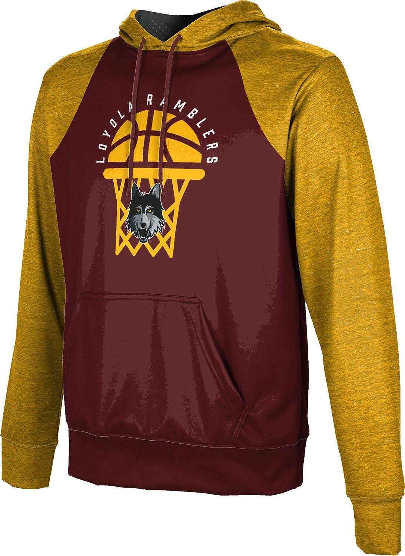 ProSphere Loyola University Chicago Basketball Mens Pullover Hoodie School Spirit Sweatshirt Raglan