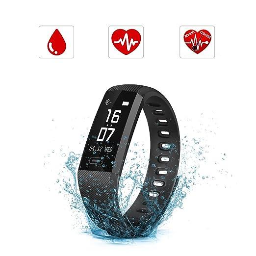 205 opinioni per Smartwatch Orologio intelligente, SAVFY IP67 Impermeabile Fitness Tracker,