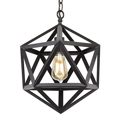 Love The Wall Finishes Chandelier And The Overall Tuscan: Geometric Pendant Light: Amazon.com