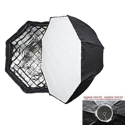 Godox AD-H6 60cm Octagon Folding Umbrella Softbox For AD600 AD600M Flash (Godox Mount