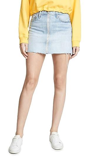 f63f711a4157d Levi's Women's Decon Zip Through Skirt at Amazon Women's Clothing store