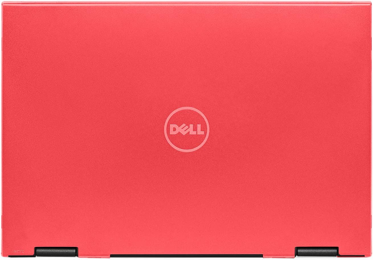 "mCover Hard Shell Case for 13.3"" Dell Latitude 13 3390 2-in-1 Business Laptop Computers Released After Jan. 2018 (NOT Compatible with Other Dell Latitude Computers) (Red)"