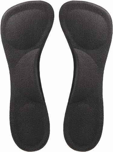 [Phoenix] ヒール用 インソール ジェルクッション かかと減震 つま先減震 足弓 中敷き 偏平足予防 衝撃 吸収 ヒールに最適 つま先 かかと サポート 疲れ 痛み 軽減