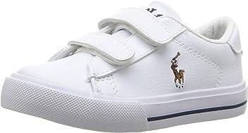 7a8f2c07a159e Polo Ralph Lauren Kids  Girl s Easton Ii Ez Sneaker