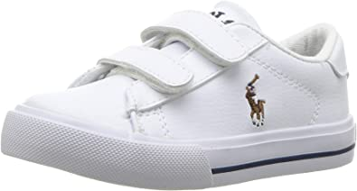 POLO RALPH LAUREN Baby Girls/' Easton Ii Ez Sneaker