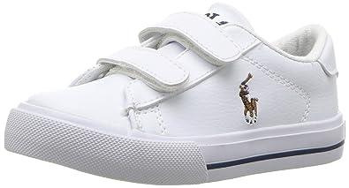5de3788546c6f8 Polo Ralph Lauren Baby Boys  Easton Ii Ez Sneaker  Amazon.co.uk ...
