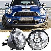 Estilo de Halo Angel Eyes LED DRL luces de circulación diurna Niebla Lámparas para Mini Cooper R55R56R58R60
