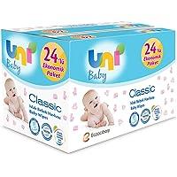 Uni Baby Classic Islak Havlu 24'lü, 1344 Yaprak