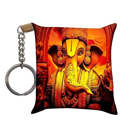 Crazyink Premium New Printed Designer Cushion Keychainkeyrings Of