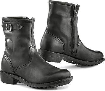 TCX Lady Smoke Motorcycle Boots Black Size 39