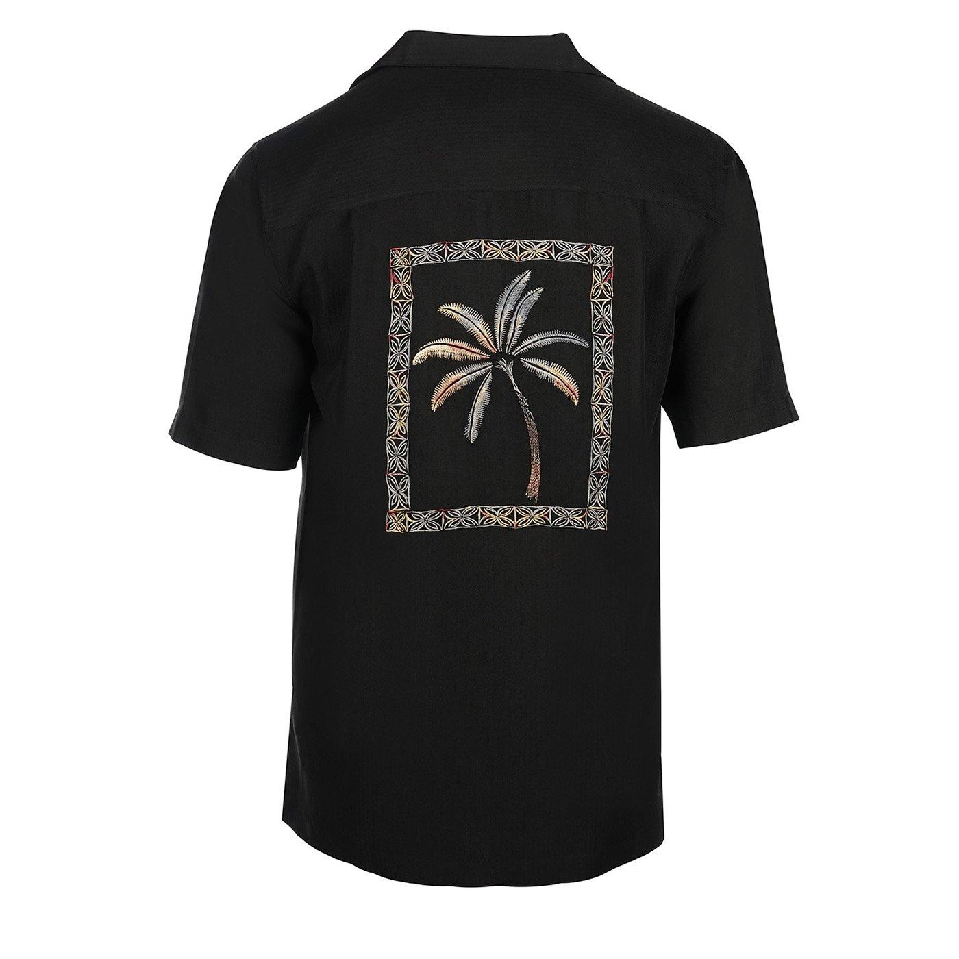 Weekender Mens Framed Palms Embroidered Shirt