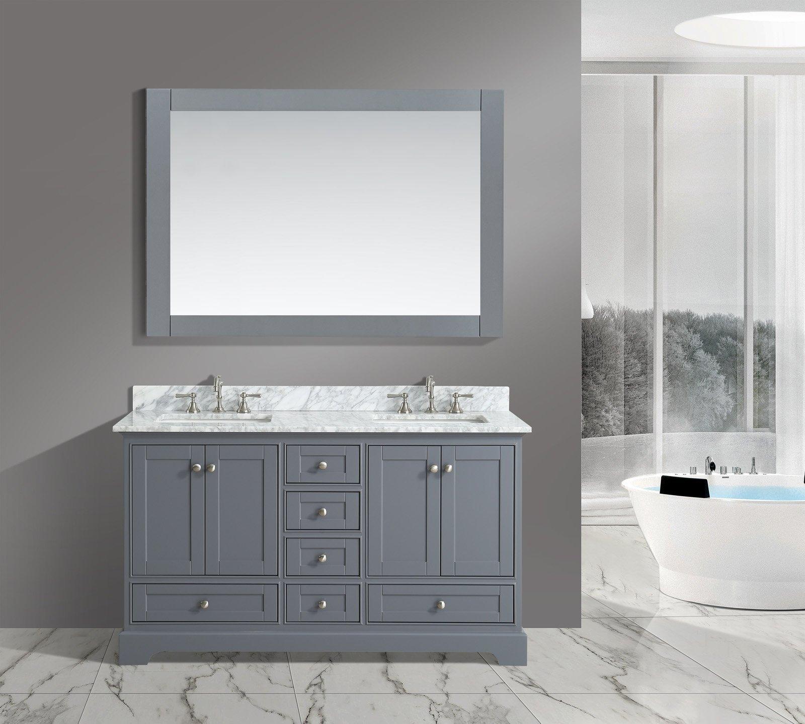 Best Rated In Bathroom Vanities Helpful Customer Reviews Amazoncom - 60 inch wide bathroom vanity light