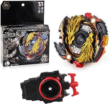 Queque Shine Set de Beyblade Lutte Ma/îtres Fusion Spinning Top Toupie Gyro M/étal Rapidit/é Jouet et Cadeaux Int/éressant pour Enfants A-B86 B92