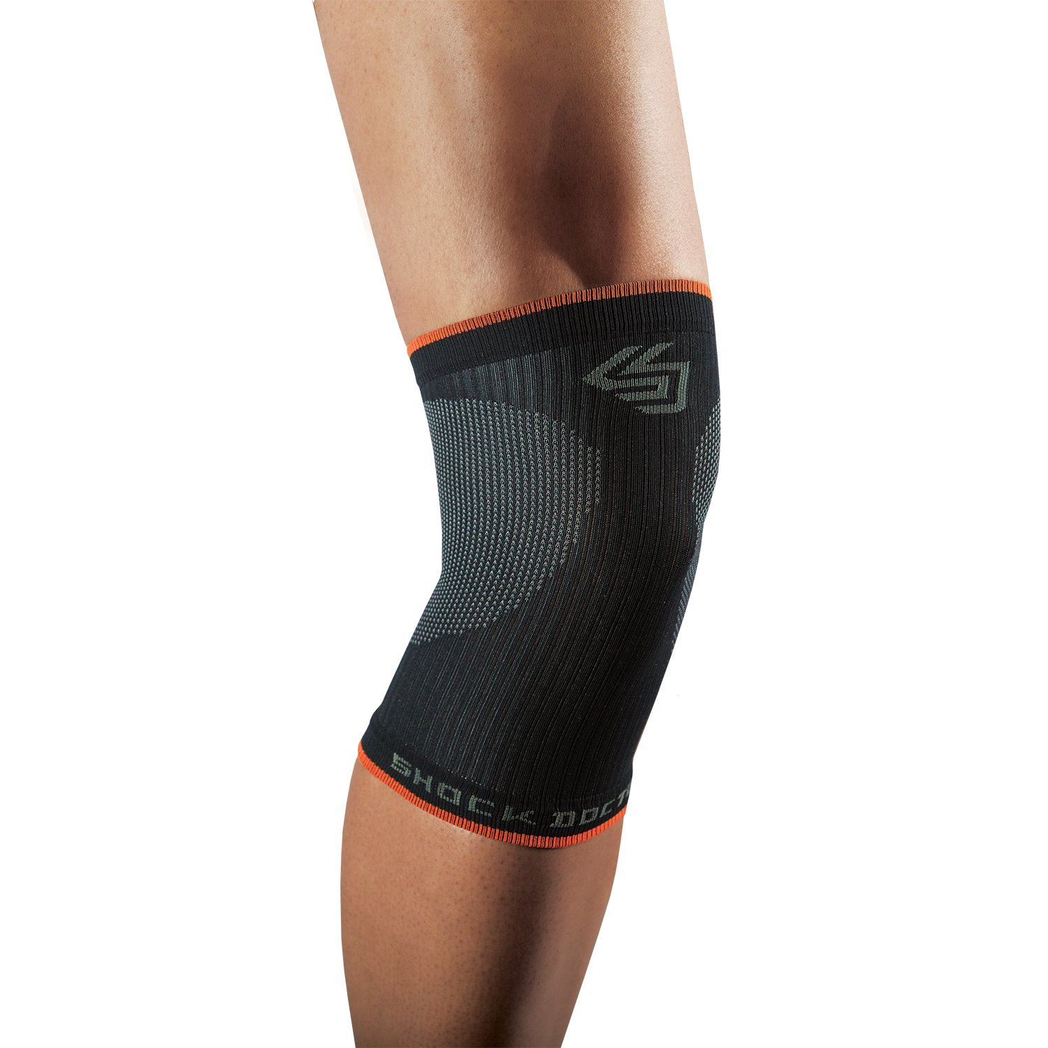 Shock Doctor SVR Compression Knee Sleeve Support for Running, Jogging, Sports, Joint Pain Relief, Arthritis and Injury Recovery, Single Sleeve 732-01-33-P