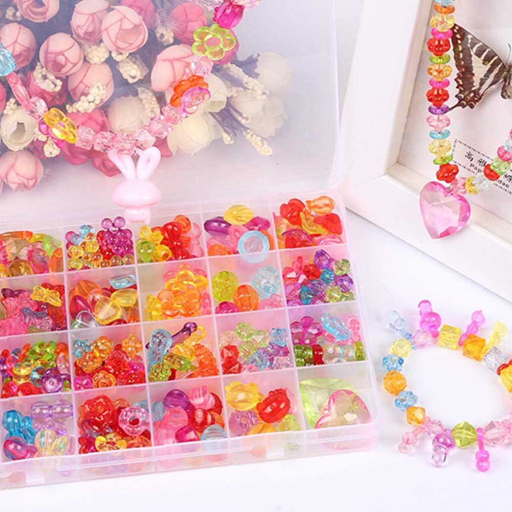 Best Birthday Gift XIMEN Bead for Bracelet Making Kit for Kids Girls