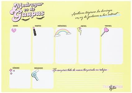 Planificador marca TANTANFAN de la línea LA VECINA RUBIA