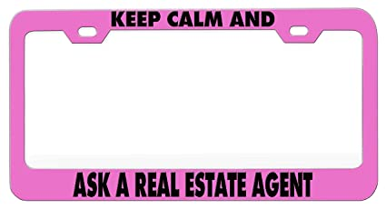 Amazon com: KEEP CALM AND ASK A REAL ESTATE AGENT Humor