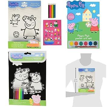 Giochi Di Peppa Pig Colorare.Giochi Di Peppa Pig Da Colorare Kit 3 Prodotti 1