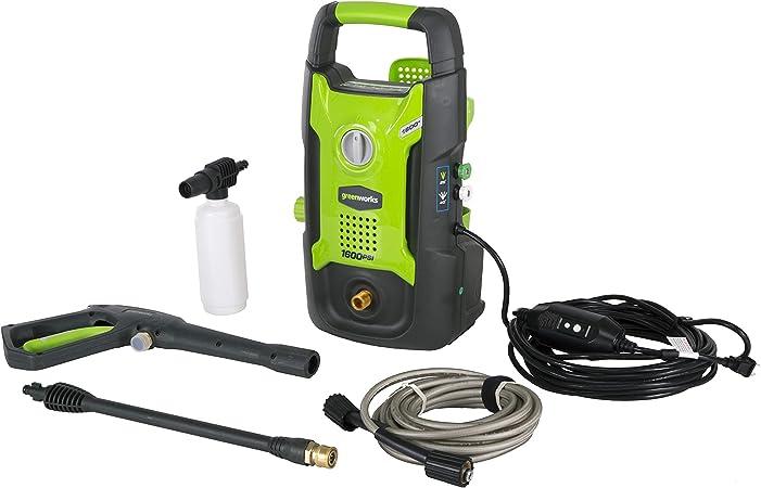 Amazon.com: GreenWorks GPW1602 Lavadora a presión ...
