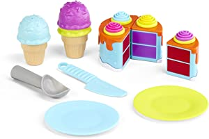 Little Tikes Tasty Jr. Bake 'N Share Birthday Treats Role Play Activity Pack, Multicolor
