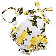 PrinceSasa Baby Girl Lemon Romper Cute Newborn Photography Props,yellow3,0-6 Months(Size S)