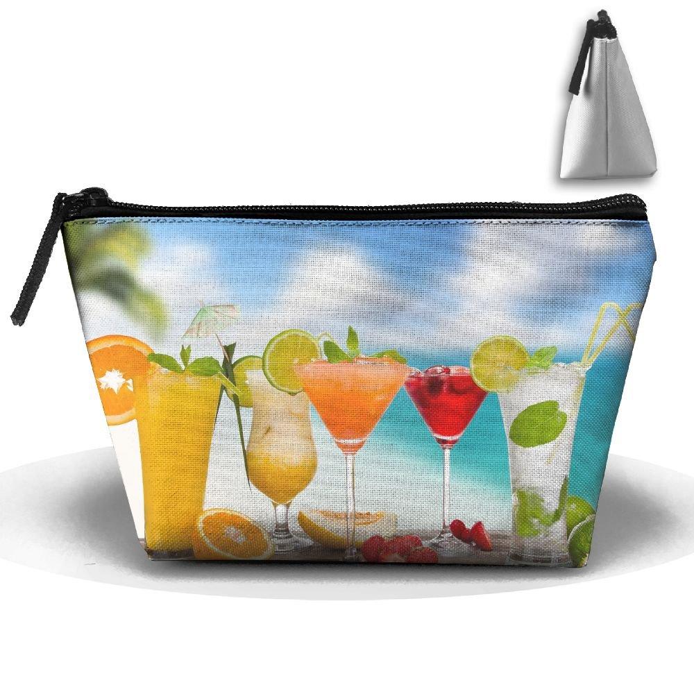 homlifeポータブル旅行ビーチカクテルFruit Drinkストレージポーチコスメティック化粧品バッグオーガナイザー旅行アクセサリー B07DZSQMFR