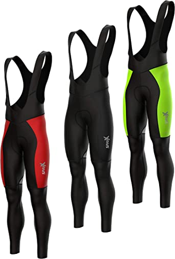 Zimco Pro Cycling Tight Thermal Super Roubaix Padded Winter Bicycle Bike Pant