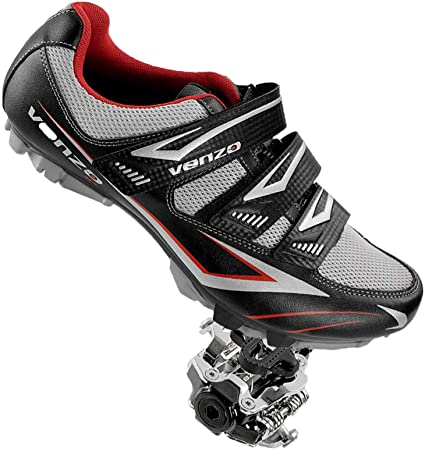 Ladies Womens Cycling Shoes SPD MTB Spin Cycle Bike Sports Trainers Shoes Size