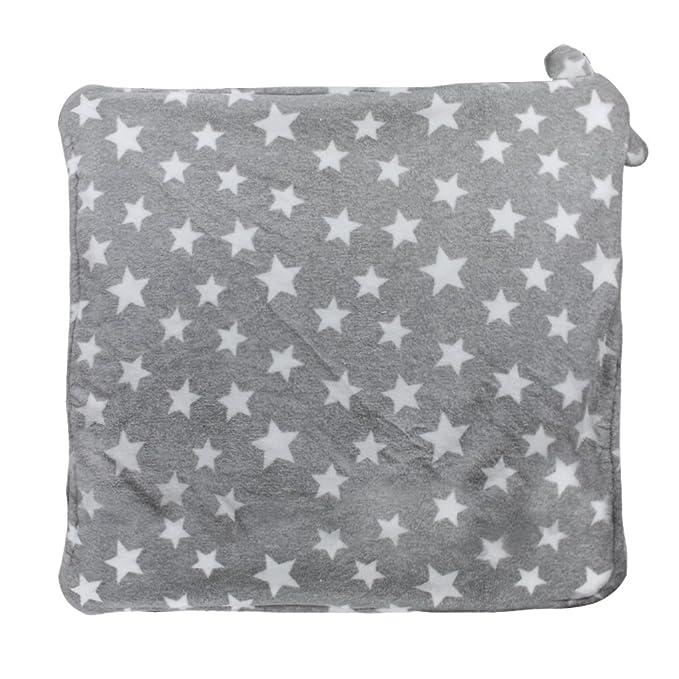 Manta bebé recién nacido multiuso saco envoltura gruesa bebé saco de dormir cálido alfombra actividades nido ángel franela gorro para otoño o ...