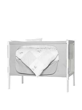 roba room bed kinderbett beistellbett fox & bunny 60x120 cm weiß ... - Roba Küche