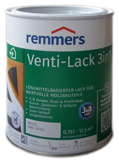 Remmers Venti Decklack Weiss 750ml