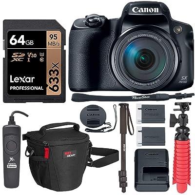 Canon PowerShot SX70 HS 4K Camera