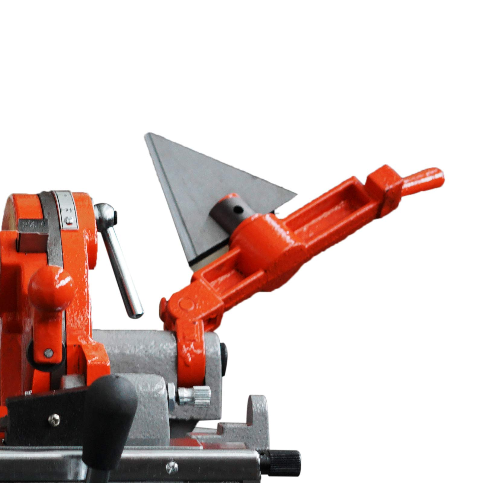 Mophorn Electric Pipe Threading Machine 1/2''-4'' Pipe Threading Cutter 750W Deburrer NPT P100 Upstanding by Mophorn (Image #5)