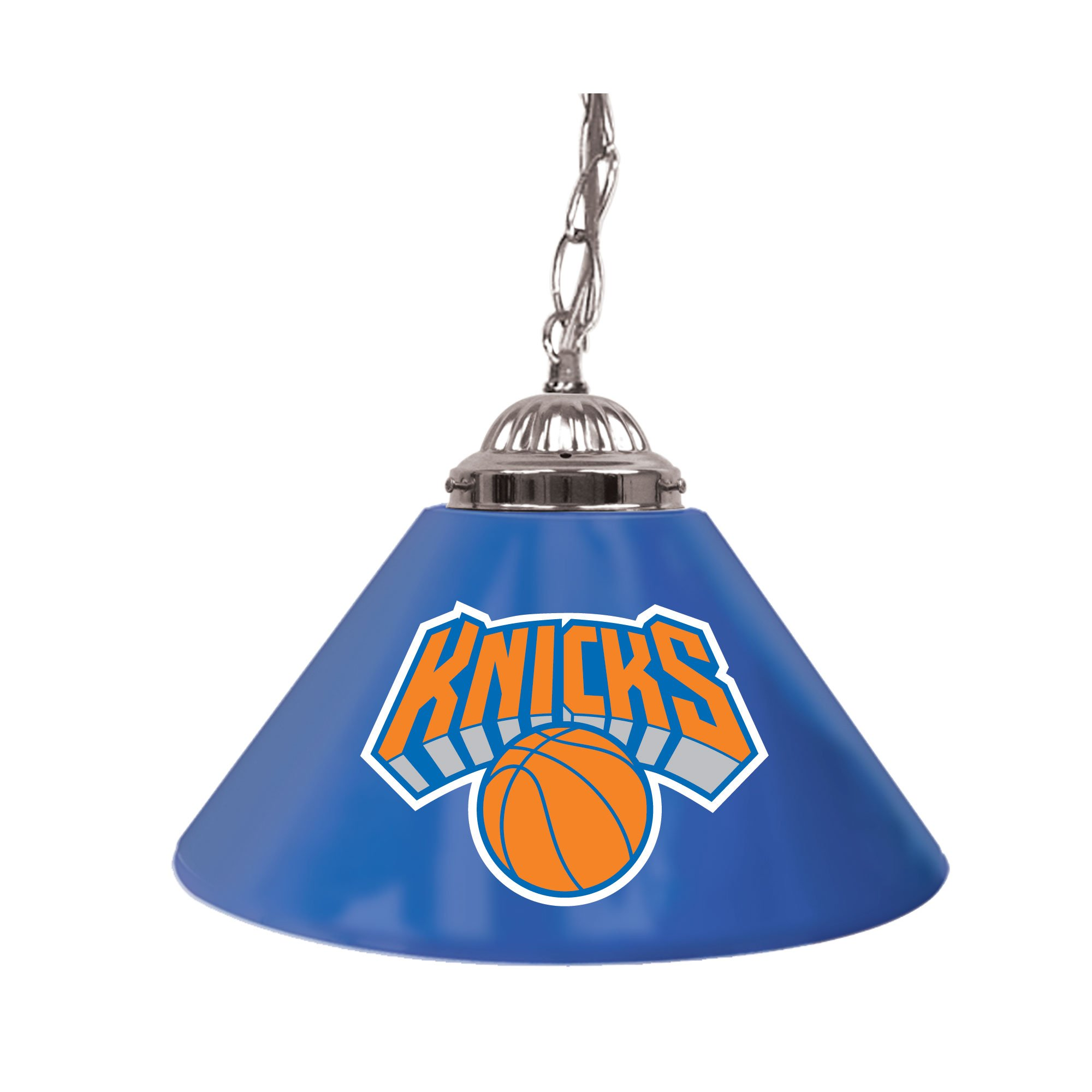 NBA New York Knicks Single Shade Gameroom Lamp, 14''