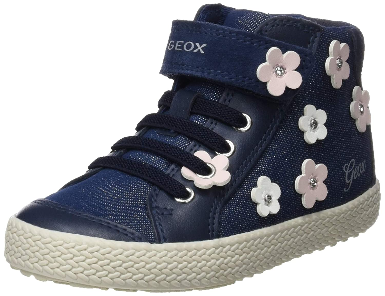 Geox B Kilwi Girl B, Sneakers Basses bébé Fille Sneakers Basses bébé Fille B92D5B0LGBC