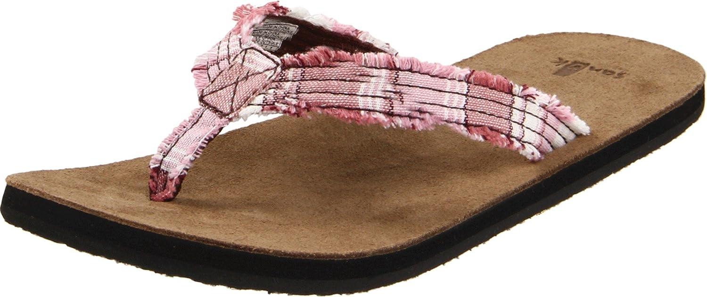 Verkauf Mode-Stil Billige Nicekicks Sanuk Fraidy Cat Frauen Flip Flops Farbe: Fuchsia Größe: 5US (36EU) Niedrig Kosten Günstig Online 9vnlK