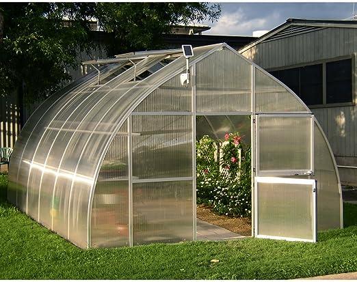 Hoklartherm Riga XL - Invernadero Profesional de policarbonato: Amazon.es: Jardín