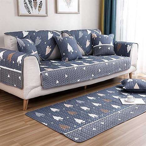 Amazon.com: OVER-PK - Fundas de sofá de algodón gruesas ...