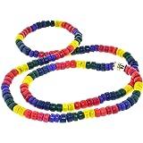 Rainbow Pride Bead Necklace - Gay & Lesbian LGBT Pride