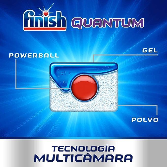 Finish Powerball Quantum Max - Pastillas para el lavavajillas ...
