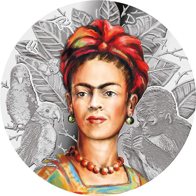Power Coin Frida Kahlo Legendary Woman 1 Oz Plata 1000 Francos ...