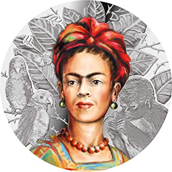 Power Coin Frida Kahlo Legendary Woman 1 Oz Plata 1000 Francos ...