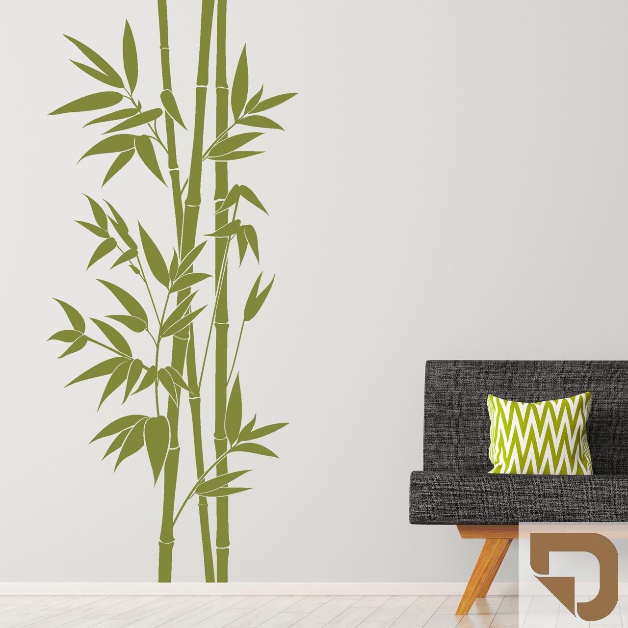DESIGNSCAPE® Wandtattoo Wandtattoo Wandtattoo XXL-Bambus   Wandtattoo Pflanze Bamboo 113 x 260 cm (Breite x Höhe) weiss DW804164-L-F5 B071VV4P6F Wandtattoos & Wandbilder 596ea0