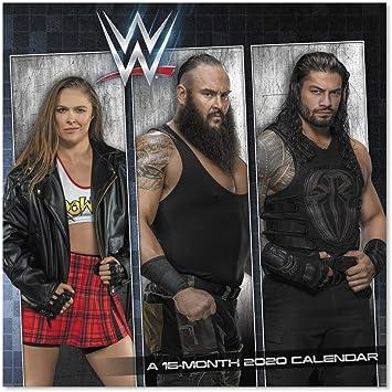 Calendrier mural 2020 WWE (DDD4742820): Amazon.fr: Fournitures de