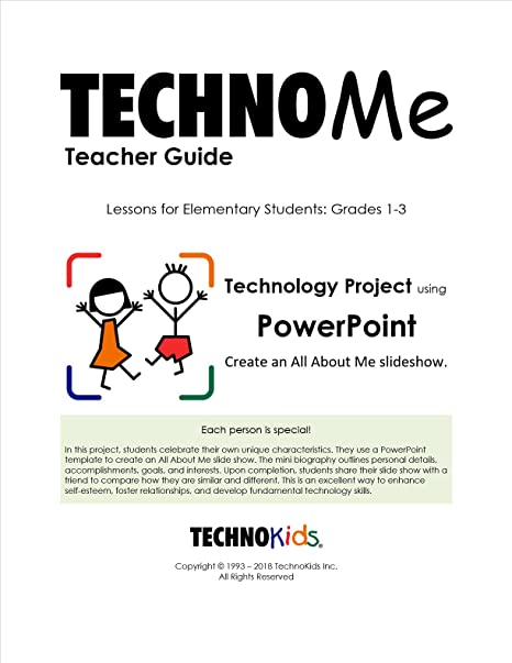amazon com technome all about me activities curriculum unit for