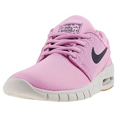 Detalles de Nike Stefan Janoski Max (Gs) Zapatillas Rosa Niños